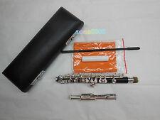 Piccolo silver plating composite wood pipe body C tone