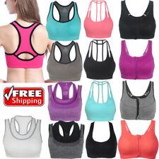 Womens Comfort Sports Bra Form Bustier Top Without Wires Seamless Breathable BRA