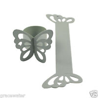 50PCS New Butterfly Paper Napkin Ring Holders Wedding Supplies Home Party Decor