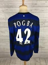 Men's Manchester United Away Shirt 2011/12 - Large - #42 POGBA - Great Condition