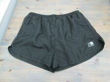 Fine black Karrimor 2-inch high-cut running shorts, size XL