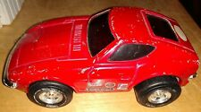 Vintage Collectible Tonka Fairlady Z Firestone Red Race car. Made in Japan used