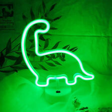 Dinosaur Neon Light Neon Night Lights Usb/Battery Powered Neon Signs for Room
