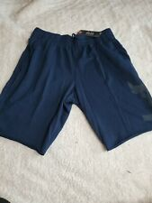 Under Armour Men's Project Rock Terry Shorts 5821 Size Large (academy)