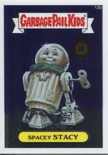 Garbage Pail Kids Chrome Series 1 Base Card 13b SPACEY STACY