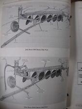 John Deere 600 600H Disk Plow Parts Catalog Manual