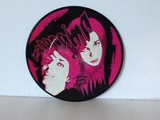 MOTORAMA Shy Girl Picture Disc ITALY PUNK Rock 7 INCH Vinyl Record