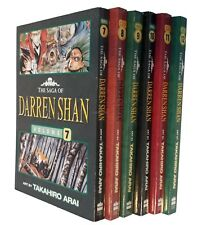 Saga of Darren Shan Graphic Manga Novels 6 Books Vampire Comic  Nos 7 - 12 New