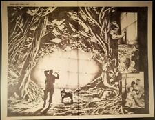 BLOODSHOT REBORN #16 Pages 12-13 Original Published Art Splash VIN DIESEL Suayan