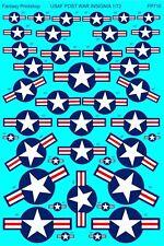 USAF Post War Aircraft Insignia (1/72 decals, Fantasy Printshop 710)