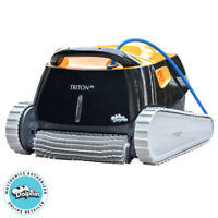 Dolphin Triton Robotic Pool Cleaner with Power Stream - 99996207-US