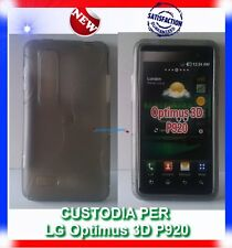 Pellicola+Custodia EYE GRIGIA per LG OPTIMUS 3D P920