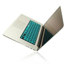 """R AQUA BLUE Keyboard Cover for NEW Macbook Pro 15"""" A1398  with Retina display"""