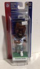 Emmitt Smith Bobble Head 2002 NFL Play Makers Dallas Cowboys NIP White Jersey