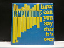 TEMPTATIONS How can you say that it's over ZB 40211