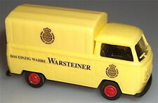 Warsteiner VW T2 Bus Flatbed Truck Tarpaulin Warehouse Find New 1:87 Å