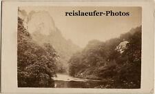Matlock, Derbyshire, Original Cdv-Photo, ca. 1880