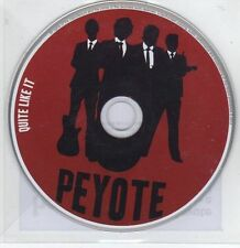 (EG33) Peyote, Quite Like It - 2013 DJ CD