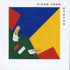 21 at 33  Elton John CD (MCA 1980) - NEW