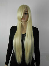 USJF513  charming long straight blonde vogue hair WIG wigs for women