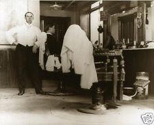 Vintage Barber Shop Well Dressed Barber Old Time Barber Chairs Shaving Strap