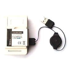 Aftermarket Battery + Wall Charger Kit HD Helmet HERO Rechargeable for GoPro 2