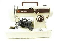 Vintage Frister & Rossman Star 30 Flat-Bed Zig-Zag Sewing Machine.