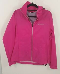 Columbia Hot Pink Spray Jacket Sz S
