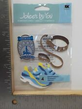 JOLEE'S BY YOU OFFICIAL DOG WALKER DIMENSIONAL EMBELLISHMENTS NEW A9353