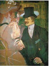 Toulouse-Lautrec-El inglés Ed. 300 ud Firma impresa. Num. lapiz. Certi. Edición
