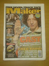MELODY MAKER 1997 JUN 14 CAST HANSON KULA SHAKER BUSH