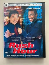 Rush Hour (Dvd, 1999, New Line Platinum Series) With Case