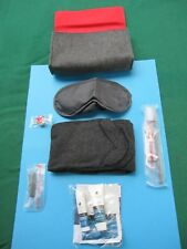 AIR CANADA AIRLINES - FIRST CLASS INFLIGHT CASE W/ ORG.LOT ACCESSORIES ! NEW.