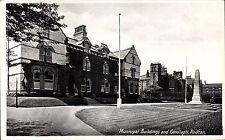 Redcar. Municipal Buildings & Cenotaph by RAP Co.