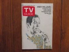 Novem-1969 TV Guide (ANDY  WILLIAMS/BRACKENS WORLD/LESLIE UGGAMS//ELEANOR PARKER