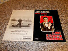 ALBUM JAMES BOND AGENTE SEGRETO 007 GOLDFINGER MOVICOLOR 1965 ORIG.COMPLETO OTT