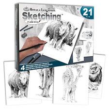 Set 21 Pezzi Royal & Langnickel disegno facile ART Zoo Animali Box Set