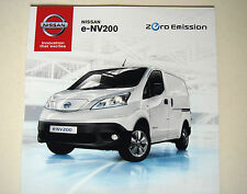 Nissan . NV200 . Nissan e-NV200 . June 2014 Sales Brochure