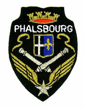 Ecusson brodé ♦ (badge embroidered) ♦ 1 ER REGIMENT HELICO COMBAT PHALSBOURG