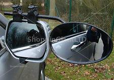 Vidrio plano 1x solo Universal Coche Caravana Remolque Remolque Espejos de extensión 8328