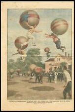 Latest American Sport, People Jumping with Helium Balloons, DDC Cover 1924