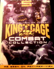 KING of the CAGE COMBAT COLLECTION Total of 50 Fights Warpath 5-Disc Set SEALED