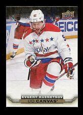 2015-16 Upper Deck Hockey Series 1 UD Canvas  #C87  Evgeny Kuznetsov