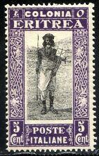 Colonie Italiane Eritrea 1930 Soggetti Africani n. 156 ** (m3160)