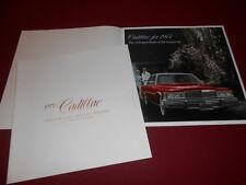 1977 CADILLAC DEVILLE / FLEETWOOD BROUGHAM 20-Page PRESTIGE BROCHURE 77 CATALOG