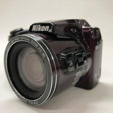 Nikon COOLPIX B500 16.0MP Digital Camera - Plum w/ Batteries