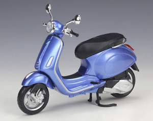 MAISTO 1:12 Vespa Primavera 150 Blue MOTORCYCLE BIKE DIECAST MODEL NEW IN BOX