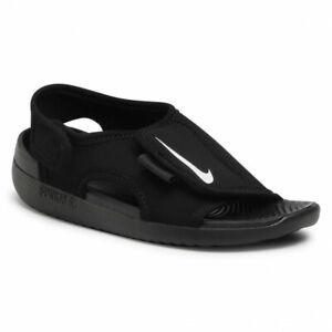 Nike Sunray Adjust 5 V2 (GS/PS) DB9562 001 Black/White Free Shipping