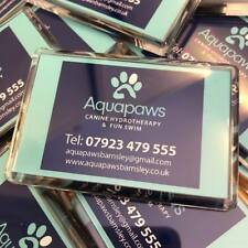 More details for promotional branded personalised photo announcement acrylic magnets 75x45mm bulk