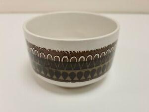 Vintage Biltons - Brown Abstract Design -  Open Sugar Bowl